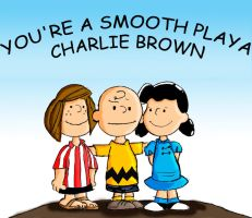 Smooth Pimp Charlie Brown by megiddohill