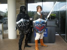 Link Dark Link at Acen 2010 by Forcebewitya