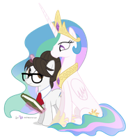 Celestia's Aide by dm29