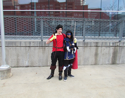 Gaston and Lucina - Montreal Mini Comic Con 2015 by J25TheArcKing