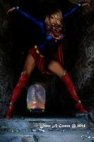 Supergirl in chains by totoletoto
