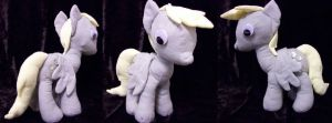 Derpy Plushie by Fetchbeer