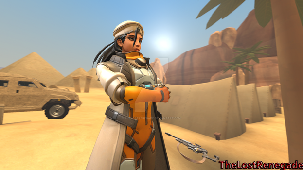 (SFM) Captain Amari (Horus Outfit) by TheLostRenegade