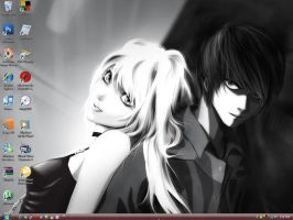 Misa and Light Wallpaper by Syrina-ish
