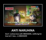 Don't confuse love with OBSESSION - ANTI NARUHINA by MARSHALLSTAR