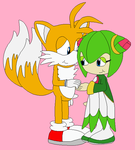 Tails x Cosmo by narutofangirlforever
