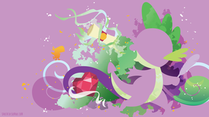 Spike Silhouette Wall by SambaNeko