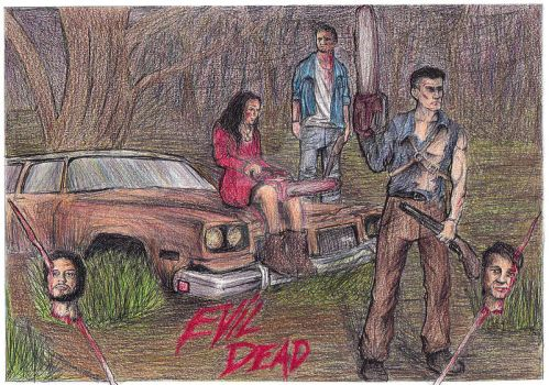 Evil Dead: Father and sons by rikinhukuma