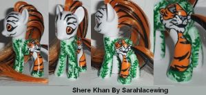 My Little Pony Custom Shere Khan by Ember-lacewing