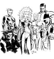 X-Men by artistjoshmills