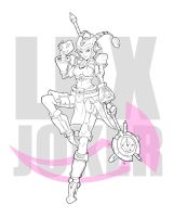 LBX Joker by exmagicstorm