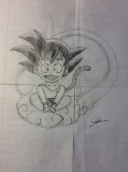 Child Goku  by Psychotic-Turtle