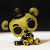 Golden Freddy from FNAF LPS custom by pia-chu