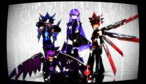 The Cyber Squad by MMDLowdisan
