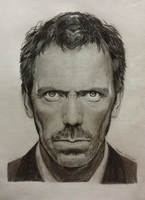 Hugh Laurie / Dr House (15 - 24 Dec 2013) by WinstonSGC