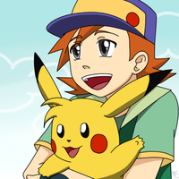 PKMN - Ritchie and Sparky by Poefish