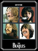The Beatles by wilovil