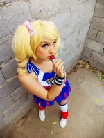 Juliet Starling Cosplay - Lolipop Chainsaw by MelodyxNya