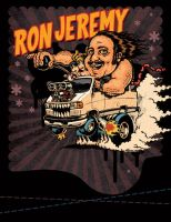 Ron Jeremy by LuisDiazArtist