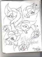 Micks Expressions by DarkHallows1000