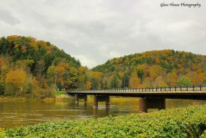 Foxburg Bridge 2 by GlassHouse-1