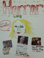 Horror Life by ErebusRed