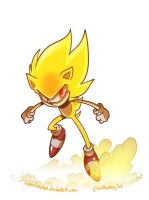 Super Sonic by SupaCrikeyDave