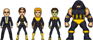 Future Mutant Coexistence Team by AlphaHero19