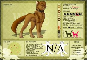 WVS: Briarpaw by BaileyTrave