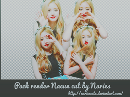 Pack render Naeun cut by Naries by NariesCute