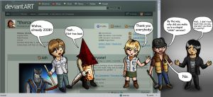 Silent Hill Chibi + 2008 views by ThoRCX