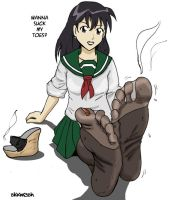 Kagome - would you... by sl44n3sh