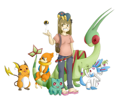My Pokemon Team by Strobotic