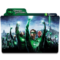 Green Lantern Folder Icon by Nialixus