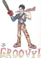 Ash Williams by BioMechGinger
