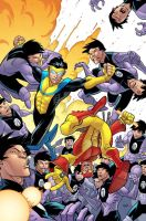Invincible 46 cover by RyanOttley