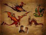 About dragons by Culpeo-Fox