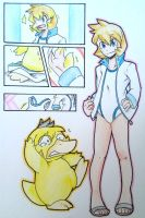 Misty's Psyduck TF by FezMangaka
