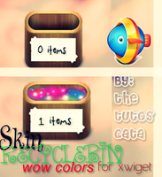 Skin RecycleBin for Xwidget by Thetutoscata