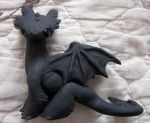 night fury sculpture by carmendee