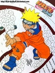 NARUTO in Papel cascaron. by XSol-StudiosX