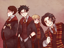 Marauders by saeru-bleuts