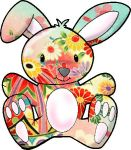 Colourful Bunny by Tsunade-Hime-TtoS