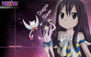 Fairy Tail Wallpaper Wendy by NatsuDrgonil