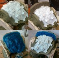 Immortan Joe's Mask - Moulding - 3 by Thomasotom