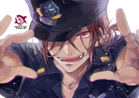 Rin Matsuoka (Police) Render #30 by Princess-of-Thorn