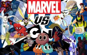 Marvel vs. Cartoon Network: AvX V3 by markellbarnes360