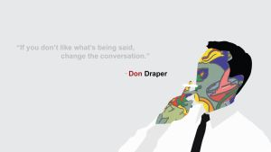 Mad Men: Don Draper (Minimalist) by SomeElixer