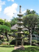 Garden at Hawaii's Airport by Dygyt-Alice