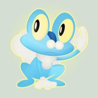 Froakie by V-LeMaster